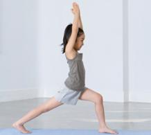 yoga enfant fille