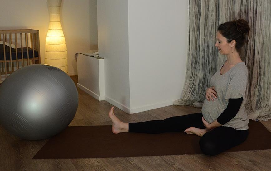 caroline suzuki professeur instants yoga interview femme enceinte exercice